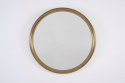 Round Brass Mirror - picture 1