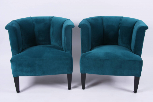 Pair of Alleegasse Chairs by Josef Hoffmann