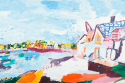 Large Oil Painting - picture 1