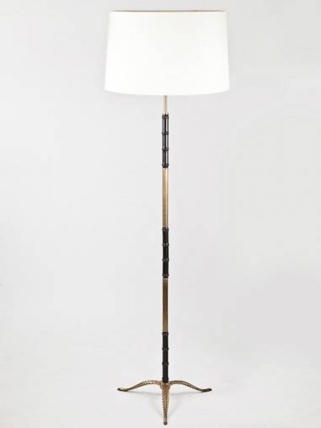 Mid C20th French, Faux Bamboo Lamp