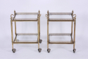 Pair of Brass Side Tables - picture 1