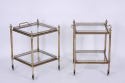 Pair of Brass Side Tables - picture 2
