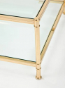 Brass Coffee Table - picture 3