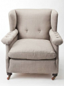Large English armchair - picture 1