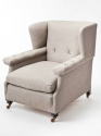 Large English armchair - picture 2
