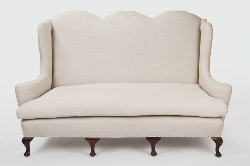 High backed 3 seater sofa
