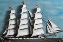 C19th Sailing Ship Diorama - picture 2