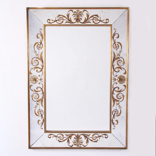 Mirror with Verre Eglomise
