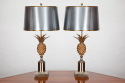 Pair Pineapple Table lamps - picture 1