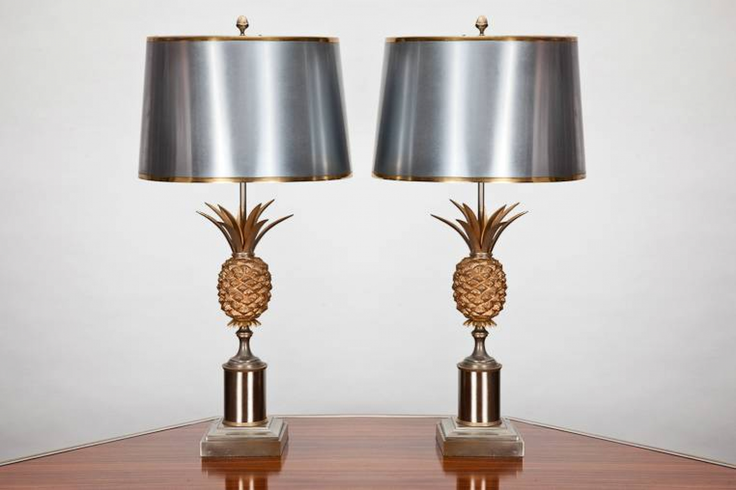 Pair Pineapple Table lamps