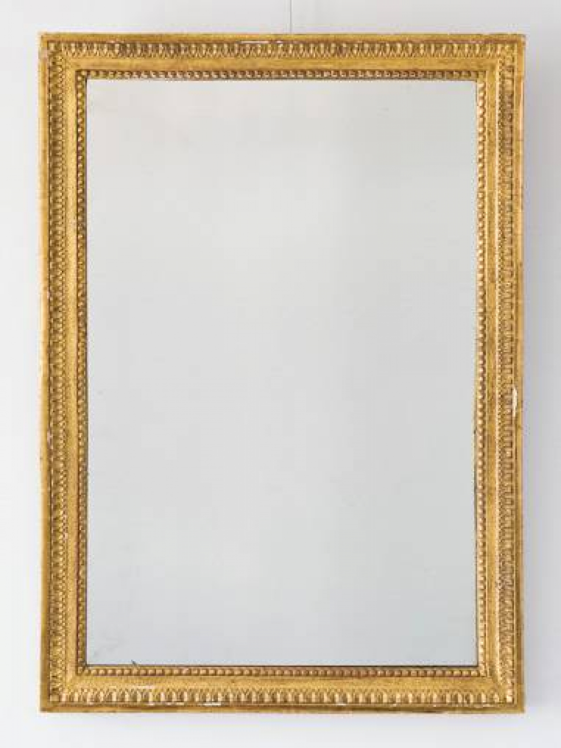 French C19th Giltwood Mirror with beautiful sparkling mercury glass.