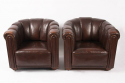 Pair of Leather Chairs - picture 1