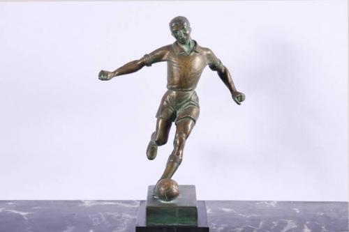 Statue of Footballer