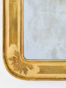 C19th French Mirror, lovely sparking plate and gilding. - picture 2