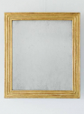 Gilt Reeded Mirror - picture 1