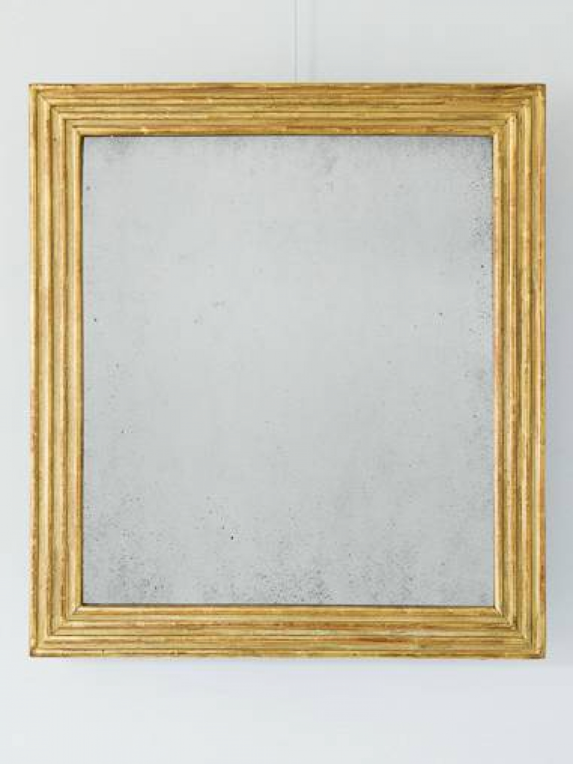 Gilt Reeded Mirror