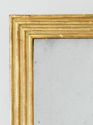 Gilt Reeded Mirror - picture 2