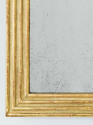 Gilt Reeded Mirror - picture 3