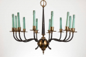 Pair of Italian 1950s Chandeliers - picture 2