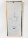 Giltwood Bistro Mirror - picture 1