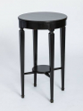 French 1920`s Ebonised Side Table - picture 1