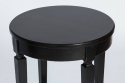French 1920`s Ebonised Side Table - picture 2