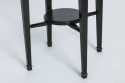 French 1920`s Ebonised Side Table - picture 3