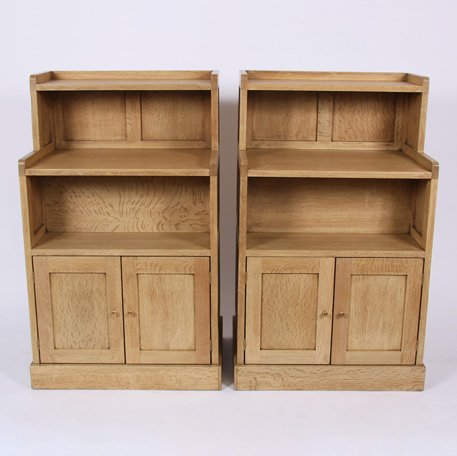 Pair of Oak Cabinets