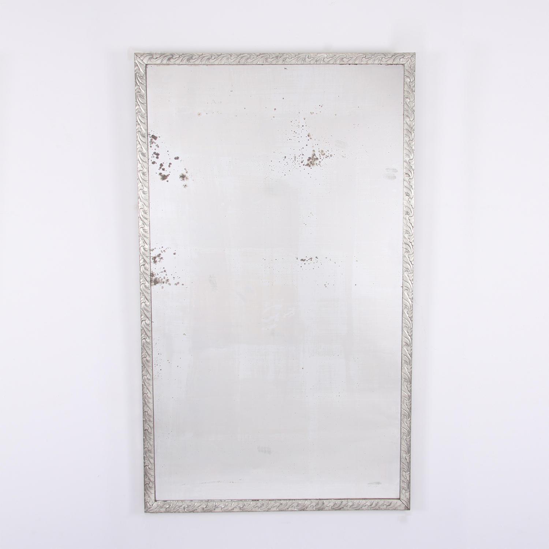 Carved Silverleaf Mirror