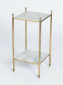 Pair of Side Tables with Marble - picture 2