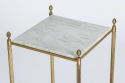 Pair of Side Tables with Marble - picture 3