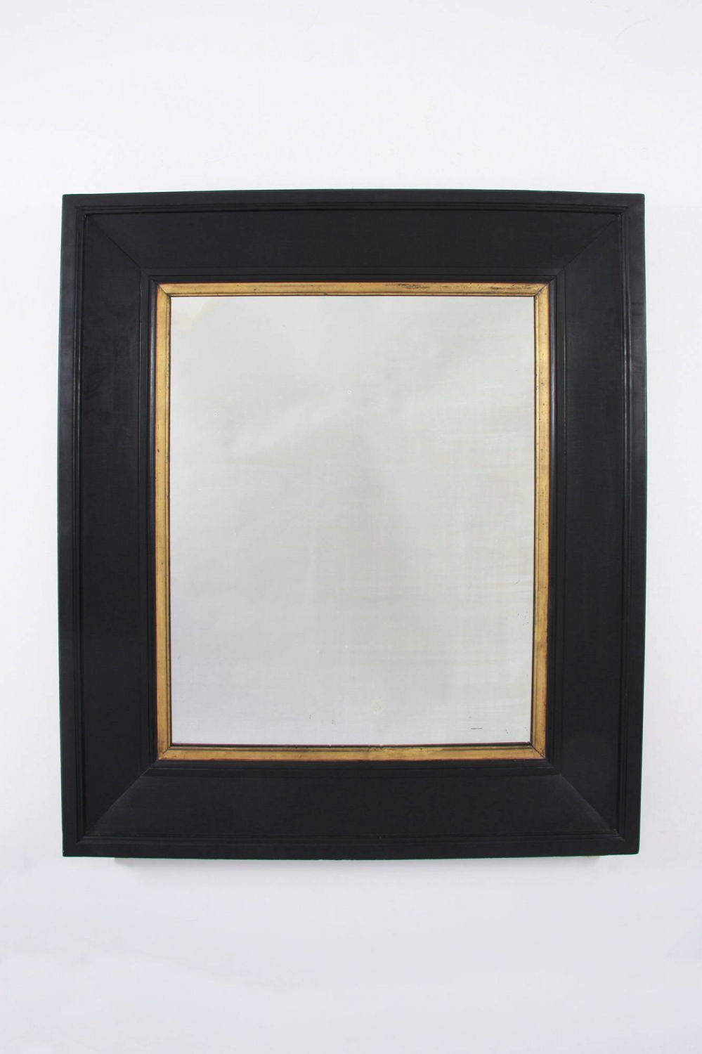 Large Black and Gold Mirror