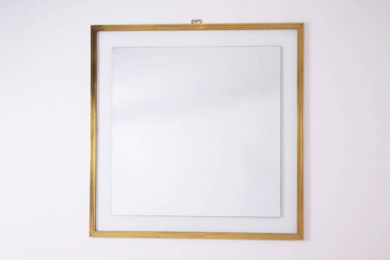 Bespoke Brass Mirror