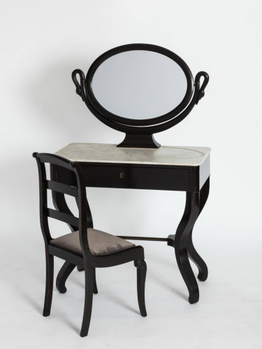 Swan Dressing Table & Chair