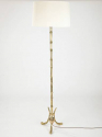 French, Faux Bamboo Floor Lamp - picture 1