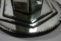 Mid 20th Century Mirrored Stem Side Table - picture 2