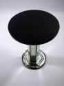 Mid 20th Century Mirrored Stem Side Table - picture 3