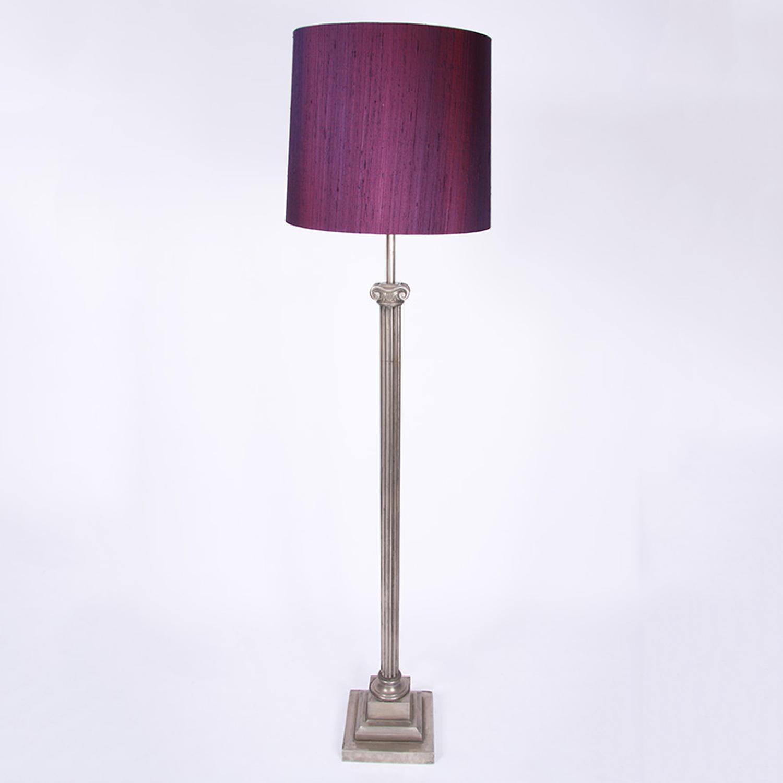Ionic Column Floor Lamp