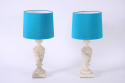 Pair of Alabaster Lamps - picture 1