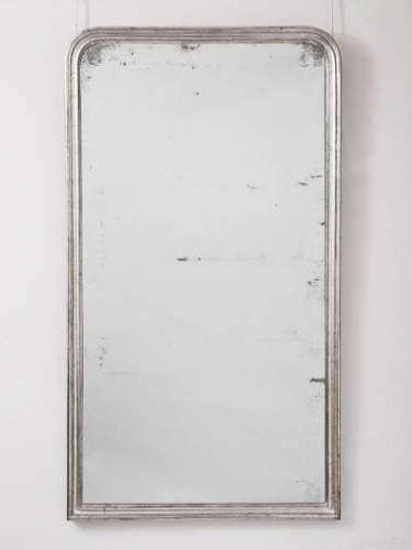 French Silver Leaf Mirror