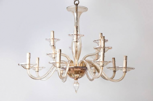 Italian mid 20th century chandelier.