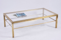Mid Century Brass Coffee Table - picture 2