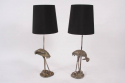 Pair of Stork Table Lamps - picture 1