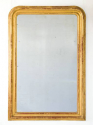 Large C19th Gilt Arch Top MIrror - picture 1