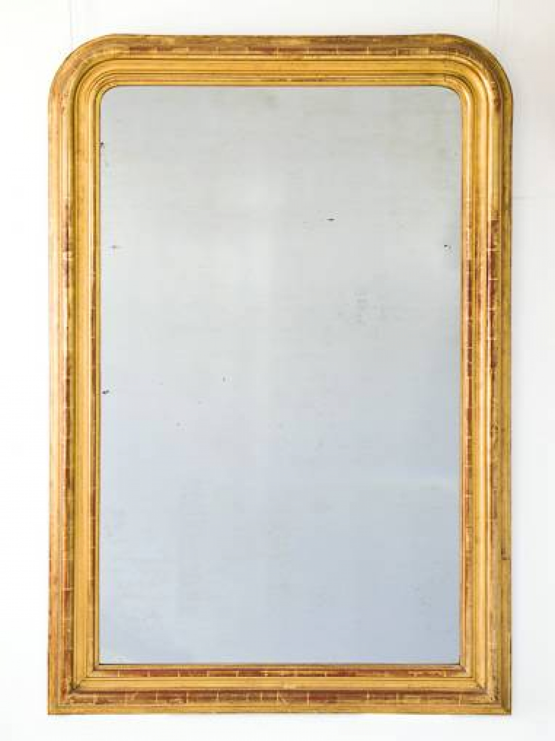 Large C19th Gilt Arch Top MIrror