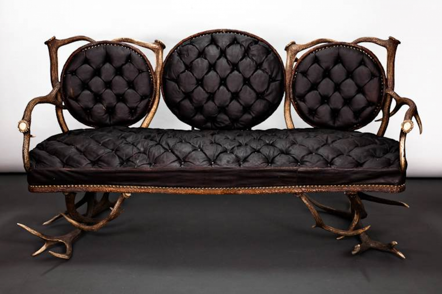 French Antler Sofa