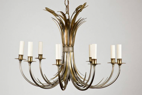 1950`s Maison Charles Chandelier