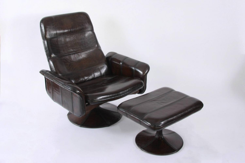 De Sede Chair & Ottoman