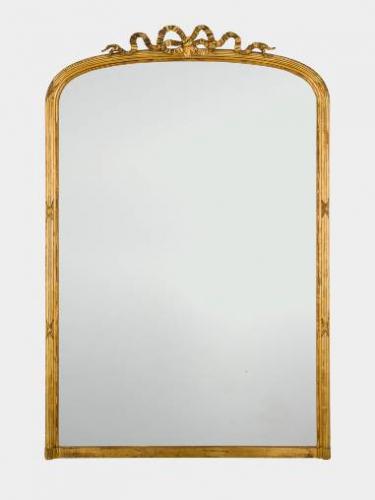 Giltwood mirror