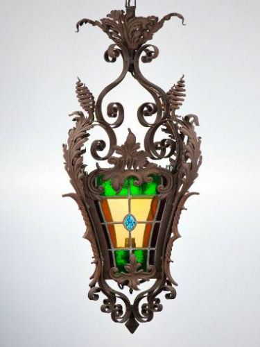 C19th French lantern